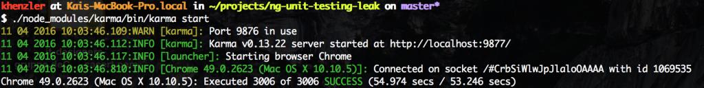 running-unit-test