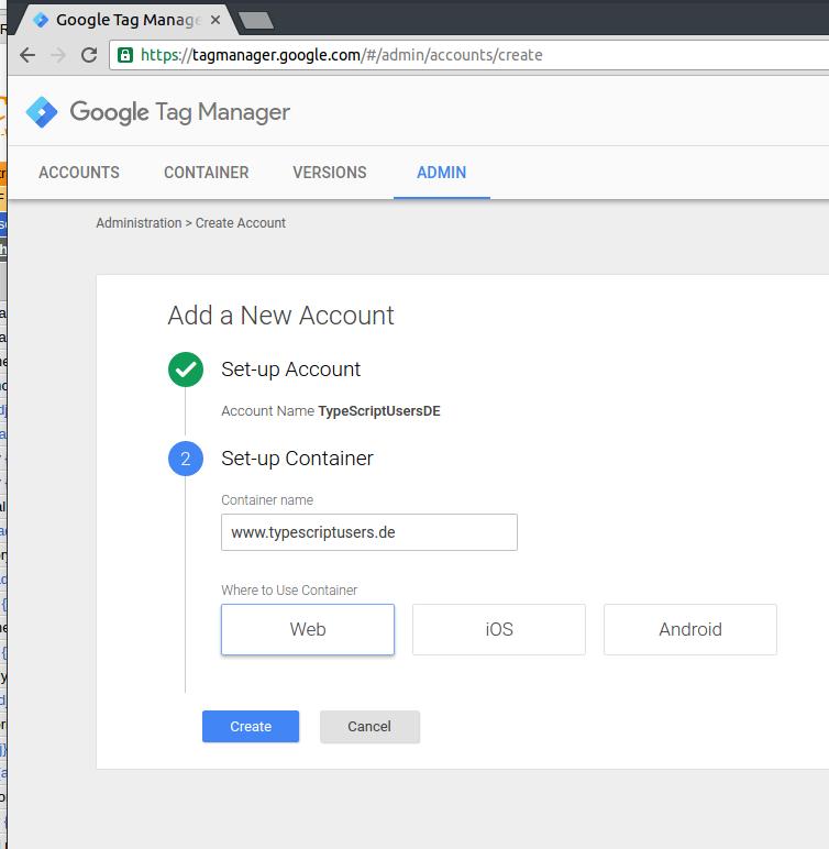 theCodeCampus → Angular 2: Set up Google Analytics and